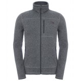 The North Face Gordon Lyons Full Zip herrefleece, Gordon Lyons Full Zip herrefleece, TNF Medium Grey Heather