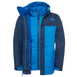 The North Face Boy's Boundary Triclimate Jacket drengejakke, Boy's Boundary Triclimate Jacket drengejakke, Cosmic Blue
