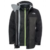 The North Face Boy's Boundary Triclimate Jacket drengejakke, Boy's Boundary Triclimate Jacket drengejakke, Tnf Black