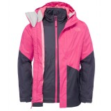 The North Face Girl's Kira Triclimate Jacket pigejakke, Girl's Kira Triclimate Jacket pigejakke, Cabaret Pink