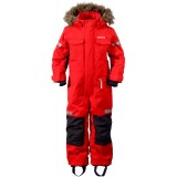 Didriksons Migisi Kid's Coverall flyverdragt, Migisi Kid's Coverall flyverdragt, 042/Tomato Red