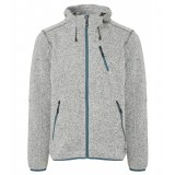 Me°ru' Mallebo Fleece Hoody Men herrefleece, Mallebo Fleece Hoody Men herrefleece, Grey Melange/Stargazer