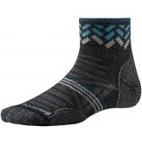 Smartwool PhD Outdoor Lite Mini Pattern WMS damesokker, PhD Outdoor Lite Mini Pattern WMS damesokker, Charcoal 003