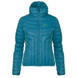 Me°ru' Greater Sudbury Padded Jacket Women damejakke, Greater Sudbury Padded Jacket Women damejakke, Mediterranian Blue