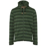 Me°ru' Traisen Knit Fleece Jacket Men herrefleece, Traisen Knit Fleece Jacket Men herrefleece, Green Stripes