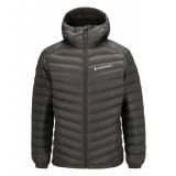 Peak Performance Frost Down Hood Men dunjakke, Frost Down Hood Men dunjakke, Black Olive 15D