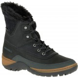 Merrell Sylva Mid Lace Waterproof damestøvle, Sylva Mid Lace Waterproof damestøvle, Black