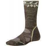 Smartwool PhD Outdoor Light Pattern Crew WMS vandresokker, PhD Outdoor Light Pattern Crew WMS vandresokker, Taupe Flower 236