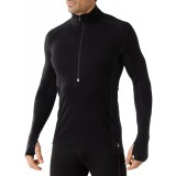 Smartwool Men's PhD Light Zip T undertrøje, Men's PhD Light Zip T undertrøje, Black 001