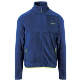 Me°ru' Lethbridge Fleece Jacket Men herrefleece, Lethbridge Fleece Jacket Men herrefleece, True Blue