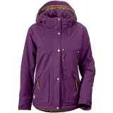 Didriksons Escape Women's Jacket damejakke, Escape Women's Jacket damejakke, Black Currant 379