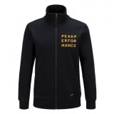 Peak Performance Sweat Zip Jacket Men herretrøje, Sweat Zip Jacket Men herretrøje, 050 Black