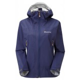 Montane Women's Atomic Jacket regnjakke, Women's Atomic Jacket regnjakke, Antarctic Blue