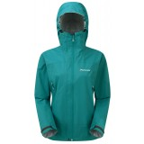 Montane Women's Atomic Jacket regnjakke, Women's Atomic Jacket regnjakke, Siberian Green