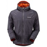 Montane Prism Jacket fiberjakke, Prism Jacket fiberjakke, Steel/Burnt Orange