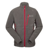 Montane Volt Jacket herrefleece, Volt Jacket herrefleece, Shadow/Alpine Red