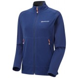 Montane Women's Nuvuk Jacket damefleece, Women's Nuvuk Jacket damefleece, Antarctic Blue