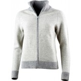 Lundhags Amsen WS Full Zip damesweater, Amsen WS Full Zip damesweater, Light Grey 829