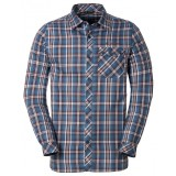 Vaude Men's Neshan LS Shirt II herreskjorte, Men's Neshan LS Shirt II herreskjorte, Washed Blue