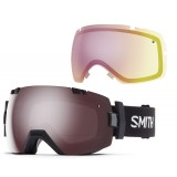 Smith I/OX Ignitor/Red Sensor skibriller, I/OX Ignitor/Red Sensor skibriller, Black.