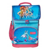 LEGO Bags Small School Bag skoletaske, Small School Bag skoletaske, Elves/Aqua Blue