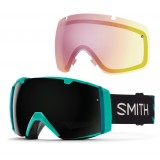Smith I/O Blackout AF + BY Red Sensor Mirror skibriller, I/O Blackout AF + BY Red Sensor Mirror skibriller, Opal Unexpected