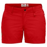 Fjällräven Abisko Stretch Shorts W dameshorts, Abisko Stretch Shorts W dameshorts, Red