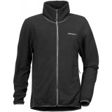 Didriksons MONTE MEN'S MICROFLEECE 2 herrefleece, MONTE MEN'S MICROFLEECE 2 herrefleece, Black 060