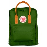 Fjällräven Kånken rygsæk, Kånken rygsæk, Leaf Green-Burnt Orange