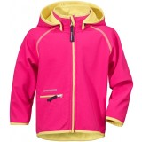 Didriksons FRENEKA KID'S SOFTSHELL JACKET softshell, FRENEKA KID'S SOFTSHELL JACKET softshell, 070/FUCHSIA
