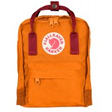 Fjällräven Kånken Mini rygsæk, Kånken Mini rygsæk, Burnt Orange/Deep Red