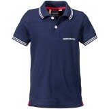 Didriksons RÄKAN KID'S POLO SHIRT polo, RÄKAN KID'S POLO SHIRT polo, Navy 039