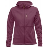 Fjällräven Abisko Trail Fleece W damefleece, Abisko Trail Fleece W damefleece, Plum
