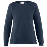 Fjällräven High Coast Knit Sweater W damesweater, High Coast Knit Sweater W damesweater, Navy
