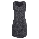Icebreaker Wmns Yanni Tank Dress Windstorm kjole, Wmns Yanni Tank Dress Windstorm kjole, Black HTHR/Snow