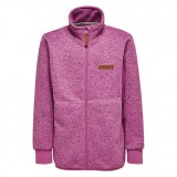 LEGO Wear Sadie 225 Fleece Cardigan børnefleece, Sadie 225 Fleece Cardigan børnefleece, Pink Melange 463