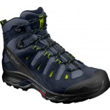 Salomon QUEST PRIME GTX vandrestøvle, QUEST PRIME GTX vandrestøvle, Navy Blazer/Ombre Blue/LIME