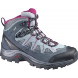 Salomon AUTHENTIC LTR GTX® WMS vandrestøvle , AUTHENTIC LTR GTX® WMS vandrestøvle , PEARL GREY/GREY DENIM/MYSTIC
