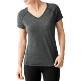 Smartwool Women's PhD Ultra Light Short Sleeve dame t-shirt, Women's PhD Ultra Light Short Sleeve dame t-shirt, Charcoal