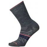 Smartwool Women's PhD Outdoor Ultra Light Crew damestrømpe, Women's PhD Outdoor Ultra Light Crew damestrømpe, Medium Gray 052