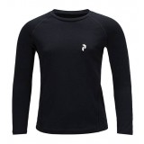 Peak Performance Kids Multi Base-Layer LS børneundertrøje, Kids Multi Base-Layer LS børneundertrøje, 050 Black