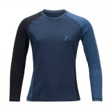 Peak Performance Kids Multi Base-Layer LS børneundertrøje, Kids Multi Base-Layer LS børneundertrøje, 20L Blue