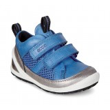 ECCO BIOM LITE INFANTS børnesko, BIOM LITE INFANTS børnesko, SILVER METALLIC/COBALT/COBALT