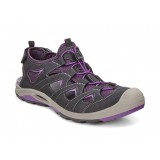 ECCO BIOM DELTA LADIES damesandal, BIOM DELTA LADIES damesandal, BLACK/IMPERIAL PURPLE