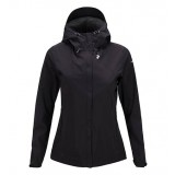 Peak Performance Swift Jacket Wms regnjakke, Swift Jacket Wms regnjakke, 050 Black