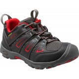 Keen OAKRIDGE LOW WP børnesko, OAKRIDGE LOW WP børnesko, BLACK/TANGO RED