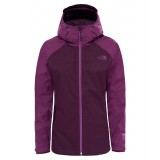 The North Face SEQUENCE JACKET WMS regnjakke, SEQUENCE JACKET WMS regnjakke, BLACKBERRY WINE/WOOD VIOLET