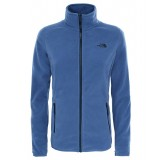 The North Face 100 GLACIER FULL ZIP WMS  damefleece, 100 GLACIER FULL ZIP WMS  damefleece, COASTAL FJORD BLUE