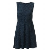 Holebrook Malva Dress kjole, Malva Dress kjole, Navy/White Dots