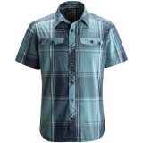 Black Diamond SS Technician Shirt Men herreskjorte, SS Technician Shirt Men herreskjorte, Admiral-Caspian Plaid